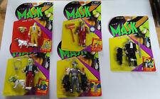 "Set of 5 ""THE MASK"" Action Figures MOC! 1995 Kenner"