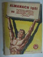 Almanach de Miroir Sprint 1951 Tous les résultats de tous les sports 1950
