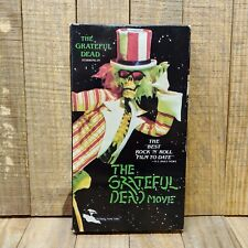 The Grateful Dead Movie (Vhs, 1989) Steal Your Face Tour Rock Music Tested