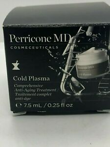 Perricone MD Cold Plasma Somprehensive Anti-Aging Treatment 7.5ml/0.25 fl oz NIB