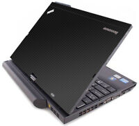 3D CARBON FIBER Vinyl Lid Skin Decal fits IBM Lenovo ThinkPad X220T X230T Laptop