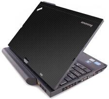 3D CARBON FIBER Vinyl Lid Skin Decal fits IBM Lenovo ThinkPad X220T X230T Laptop