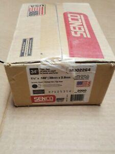 SENCO M002264 Metal Connector Nail,1-1/2 In,PK2000