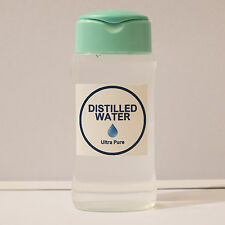50ml Ultra Pure Quality Distilled Water Cleaner Bottled Fast Delivery Liquid UK