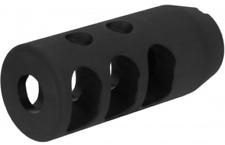 14-1 LEFT HAND TPI COMPACT SIZE MUZZLE BRAKE/STEEL/BLK (7.62X39)