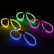 Gafas luminosas para fiestas neón Led en varios colores