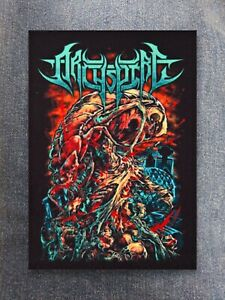 Archspire patch sew on printed textile patch rock death metal core deathcore