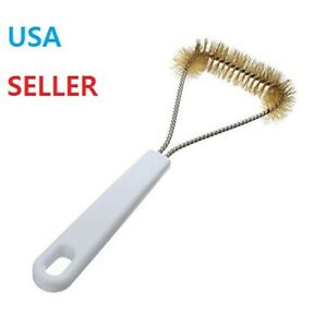 BBQ Grill Brush Stainless Steel Grill Brush Barbecue Brass Bristle Grill Cleaner