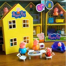 La casa de Pepa pig Peppa TV incluye mobiliario y 4 figuras dibujos tv