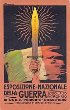9505) BOLOGNA 1918, ESPOSIZIONE NAZIONALE DELLA GUERRA. ILLUSTRATORE MAJANI.