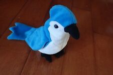 Ty Beanie Baby ~ ROCKET the Blue Jay Bird ~  RETIRED