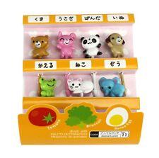 Cute Japanese Food Picks for Kids Bento Box Lunch - Animal Designs. 7pcs.