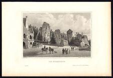 Antique Print-WESTPHALIA-EXTERNSTEINE-VIEW-GERMANY-Schucking-Mayer-1872