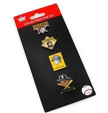 Pittsburgh Pirates Logo Pin Set