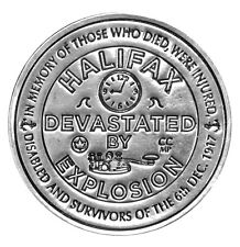 Halifax Explosion Commemorative - Fine Silver Medal - 1 oz.