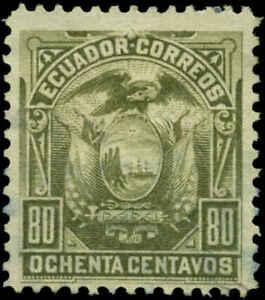 Ecuador Scott #22 Mint No Gum