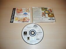 Legend of Mana Complete PS1 Playstation 1 Game Black Label CIB Near Mint