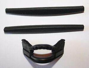 OAKLEY PRO M Replacement Ear Socks & Nose Piece - BLACK