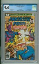 Fantastic Four #212 CGC 9.4 Origin Of The Sphinx Galactus & Watcher App 1979