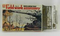 Vintage Bandai Field Work Accessory Miscellaneous Trees Miniatures Military