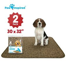 Paw Inspired Washable Dog Pads, Reusable Puppy Pee Wee Training Pads Extra Large