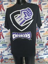 VTG. XFL Chicago Enforcers Graphic T-Shirt XL Officially Licensed 2000-2001 🏈