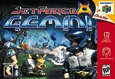 "Nintendo 64 N64 Jet Force Gemini Box Cover  8.5""x11""  Game Wall Poster Decor"