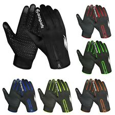 Oro Sports Cycling Gloves Windproof Touchscreen Full Finger Running Biking Glove