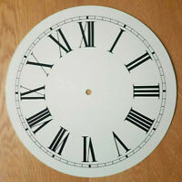 NEW - 12 Inch Clock Dial Face - Off White Antique Finish 305mm Roman Num - DL35