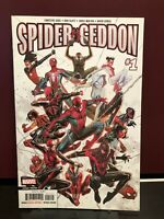 Spider-Geddon 1 & 4 2nd Print; Black Cat 1 WalMart; Life of Cap Marvel 2nd Print