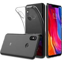 Handy Case für Xiaomi Mi 8 Hülle Transparent Schutz Tasche Handyhülle Cover