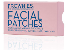 Frownies Facial Patches for Forehead & Between Eyes, Smooths Fine Wrinkles 144ct