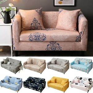 Elastic Sofa Cover Soft Printed Couch Slipcover Kids Room Furniture Cute Decor