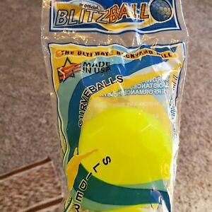 "Blitzball ""The Ultimate Backyard Baseball"" Curve Training Plastic Ball 3 pack"