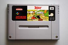 Jeu ASTERIX pour Super Nintendo SNES version PAL
