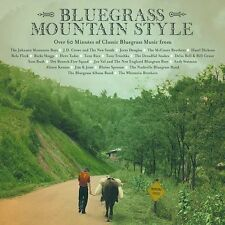 Bluegrass Mountain Style by Various Artists (CD New, Apr-2002, Rounder Select)