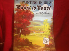 Painting In Oils Coast to Coast by Stricker Art Instruction SC BK Walter Foster