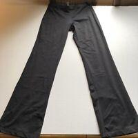 City Tech Womens Black Stretch Bootcut Athletic Pants Sz S A1563