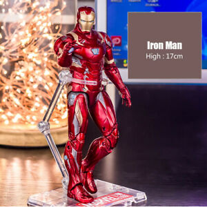 Marvel Iron Man Holder 7in Comic ZD toys Kid Avengers Action Figure Heroes Toy