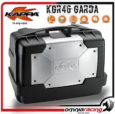 Kappa Garda KGR46 Bauletto Borsa Baule Valigia Rigida - Top Side Case 46 Litri