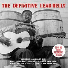 LEAD BELLY - DEFINITIVE 2CD