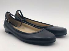 Ralph Lauren Flats, Black Size 9.5m, Ankle Strap