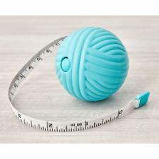 "Hemline Knitting Yarn Ball Retractable Tape Measure - 150cm/60"""