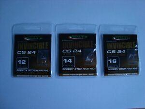 Maver Invincible CS 24 Bait Banded or Speedy Stop Hooks to nylon various sizes