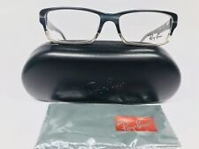 New Authentic Ray Ban RB 5169 5540 Gray Marble Eyeglasses 54/16/140 with Case