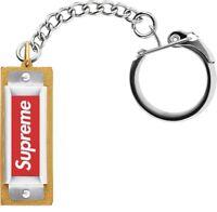 Supreme Hohner Keychain Silver Harmonica Collectible