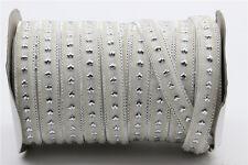 5/20Yards 10mm Sparkle Glitter Velvet Ribbon Headband Clips Bow Decoration S