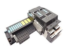 Siemens PLC Modules with Motor Starters, Complete Set of Modules and Terminals