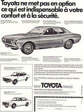 PUBLICITE ADVERTISING  1987   TOYOTA   CELICA 1600 coupé ST