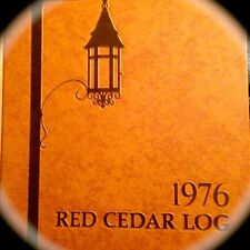 "1976  MICHIGAN STATE YEARBOOK""Red Cedar LOG"":  [E. Lansing} fine, used copy!"